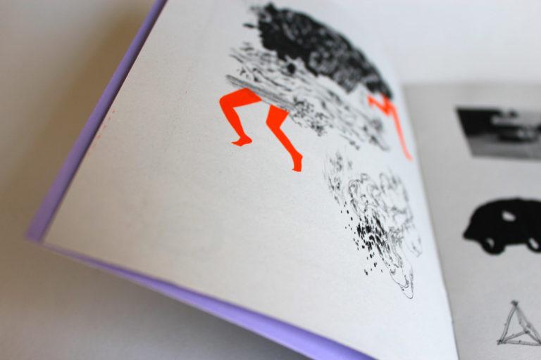 Camping-car – emplacement#1 Fanzine sortie à l'occasion de la soirée Kumpania Beats, le 30 novembre 2013. Impression laser noire & sérigraphie, papier recyclé - spécial guest David Brunner. 50 exemplaires [épuisé]